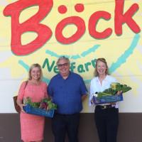 Besuch bei der Gärtnerei Böck