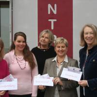 Von links nach rechts: Caritas: Regina Brückner, SPD: Cornelia Gütlich, Frauennotruf: Renate Jess und Angela Rupp, SPD-Kreisrätin Bianka Poschenrieder