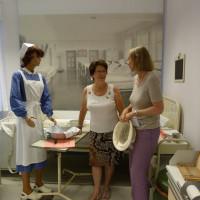 Alma Midasch im Gespräch mit Bezirkstagskandidatin Bianka Poschenrieder